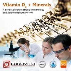 Vitamin D3 + Minerals 1kg