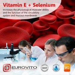 Etykieta produktu Vitamin E + Selenium
