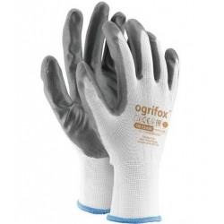 Rękawice robocze NITRYLOWEmocne rozmiar10