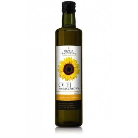 Olej słonecznikowy tłoczony na zimno 250ml