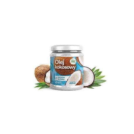 Olej kokosowy tłoczony na zimno 450ml