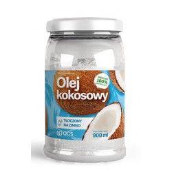 Olej kokosowy tłoczony na zimno 900ml