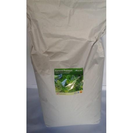 Zakwaszacz dla drobiu Eurocid Premium Poultry 25 kg