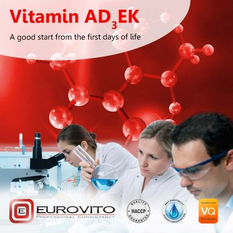 Etykieta Vitamin AD3EK 1 l